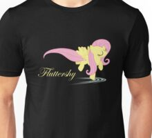 Fluttershy Gliding on Water Unisex T-Shirt
