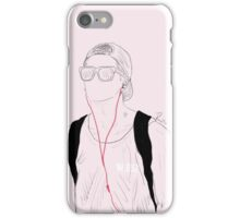 GOT7 Jackson Wang // Line Art Print iPhone Case/Skin