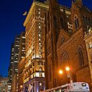USA. New York. Manhattan. Fifth Avenue Presbyterian Church. by vadim19