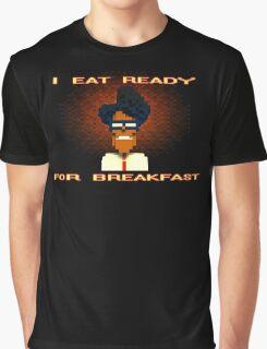 Moss Eats Ready Graphic T-Shirt