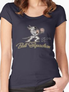 Bull Squadron Women's Fitted Scoop T-Shirt
