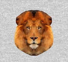 Low Poly Lion Head Unisex T-Shirt