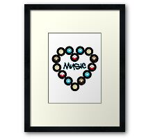 Love Music Framed Print