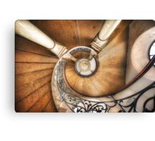 St Luke's Spirals Canvas Print