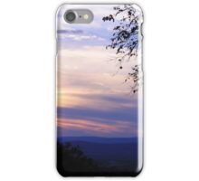 Mountain View Sunset iPhone Case/Skin
