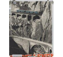 Vintage poster - Switzerland iPad Case/Skin