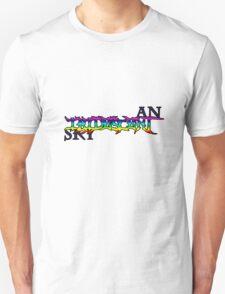 An Iridescent Sky Logo T-Shirt