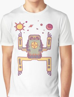 Space Sloth Graphic T-Shirt