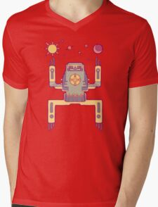 Space Sloth Mens V-Neck T-Shirt