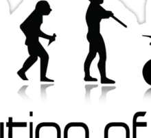 Off-Road Quad- Evolution of Men Sticker