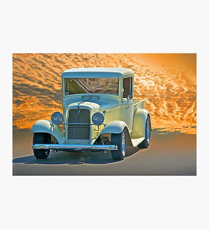 1934 Ford Pick-Up l Photographic Print