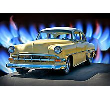 1954 Chevrolet Custom Bel Air Photographic Print
