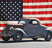 All American Ford by DaveKoontz