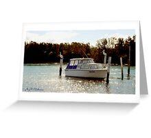 Fisherman's Boat  Greeting Card