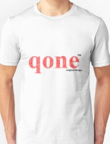 Red logo - qone T-Shirt