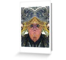 Mirabella H. Lugubrious (Art & Poetry) Greeting Card