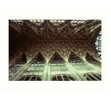 Ceiling Gloucester Cathedral 19810115 0032 Art Print