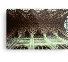 Ceiling Gloucester Cathedral 19810115 0032 Metal Print