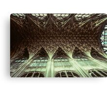 Ceiling Gloucester Cathedral 19810115 0032 Canvas Print
