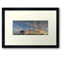 ©HCS-DA EVA04-Orange Glow I Framed Print