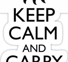 Keep Calm and Carry On Wayward Son Sticker