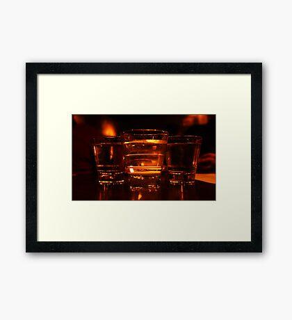 Whiskey Boys Framed Print