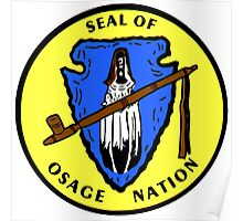 Seal of the Osage Nation Poster
