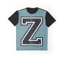 Big Varsity Letter Z Graphic T-Shirt