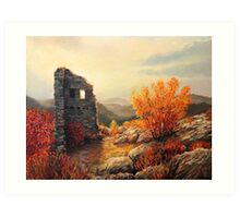 Old Fortress Ruins Art Print