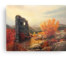 Old Fortress Ruins Metal Print