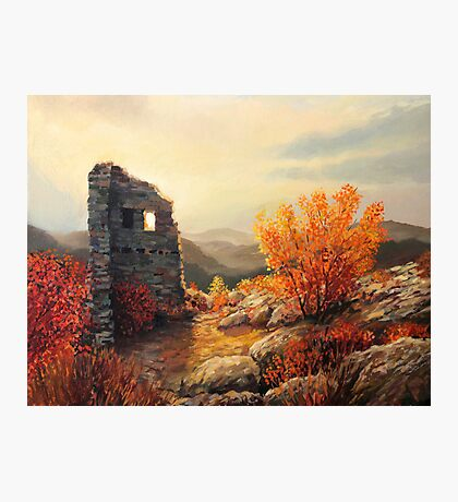 Old Fortress Ruins Photographic Print