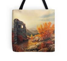 Old Fortress Ruins Tote Bag