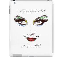 WOMAN MAKEUP iPad Case/Skin