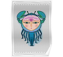 cancer zodiac sign Poster