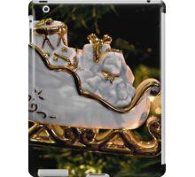 Christmas Sleigh Ornament  iPad Case/Skin