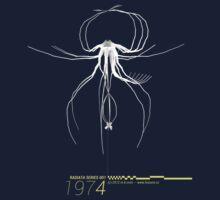 Radiata Series 001-1974 (gray) by mkmori