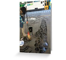 Water painting Greeting Card