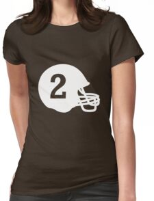 Johnny Football Womens Fitted T-Shirt