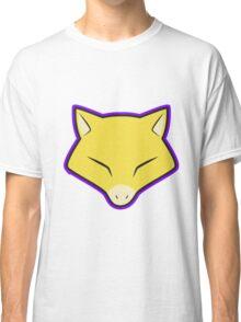 ABRA Pokemon Minimal Design First Generation Sticker Shirt Classic T-Shirt