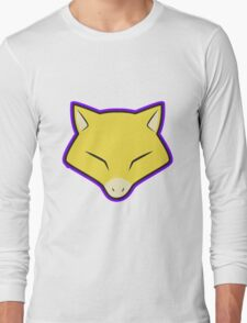 ABRA Pokemon Minimal Design First Generation Sticker Shirt Long Sleeve T-Shirt