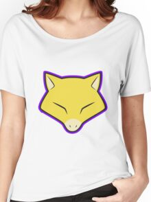 ABRA Pokemon Minimal Design First Generation Sticker Shirt Women's Relaxed Fit T-Shirt