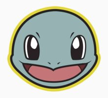 SQUIRTLE Pokemon Minimal Design First Generation Sticker Shirt by Jorden Tually