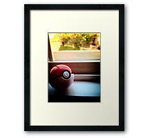 Pokeball Photo design Framed Print