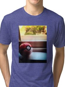 Pokeball Photo design Tri-blend T-Shirt