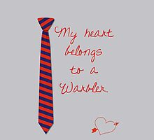 My Heart Belongs To A Warbler by bowtiedarling