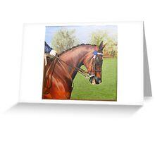 "The Laughing Cavalier --- SLM Flirting ""Maxie"" Greeting Card"