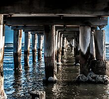 Under the boardwalk by LadyFran