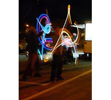 The Light Jugglers Photographic Print