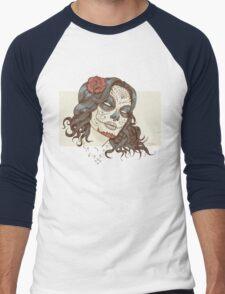 Muerte Men's Baseball ¾ T-Shirt