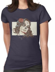 Muerte Womens Fitted T-Shirt